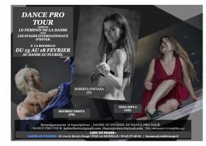stage feminin - dance pro tour